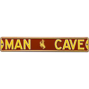 Authentic Street Signs Wyoming Cowboys 'Man Cave' Street Sign