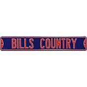 Authentic Street Signs Buffalo Bills 'Bills Country' Street Sign