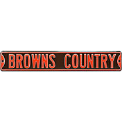 Authentic Street Signs Cleveland Browns 'Browns Country' Street Sign