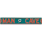 Authentic Street Signs Miami Dolphins 'Man Cave' Street Sign