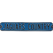 Authentic Street Signs Jacksonville Jaguars 'Jaguars Country' Street Sign