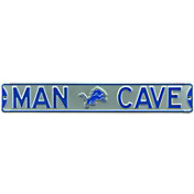 Authentic Street Signs Detroit Lions 'Man Cave' Street Sign