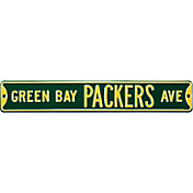 Authentic Street Signs Green Bay Packers Avenue Green Sign