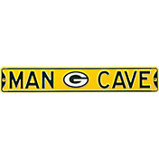 Authentic Street Signs Green Bay Packers 'Man Cave' Street Sign