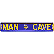 Authentic Street Signs Minnesota Vikings 'Man Cave' Street Sign
