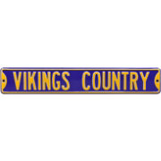 Authentic Street Signs Minnesota Vikings 'Vikings Country' Street Sign