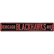 Authentic Street Signs Chicago Blackhawks Ave Sign
