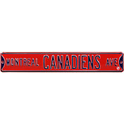 Authentic Street Signs Montreal Canadiens Ave Sign