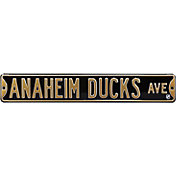 Authentic Street Signs Anaheim Ducks Ave Sign