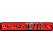 Authentic Street Signs New Jersey Devils Ave Sign