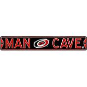 Authentic Street Signs Carolina Hurricanes 'Man Cave' Street Sign