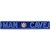 Authentic Street Signs Winnipeg Jets 'Man Cave' Street Sign