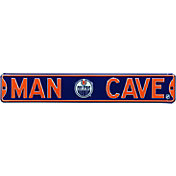Authentic Street Signs Edmonton Oilers 'Man Cave' Street Sign