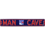 Authentic Street Signs New York Rangers 'Man Cave' Street Sign