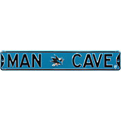 Authentic Street Signs San Jose Sharks 'Man Cave' Street Sign