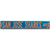 Authentic Street Signs San Jose Sharks Ave Sign