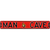 Authentic Street Signs Ottawa Senators 'Man Cave' Street Sign