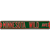 Authentic Street Signs Minnesota Wild Ave Sign