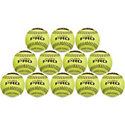 "ATEC 12"" Hi.Per Pro Leather Training Fastpitch Softballs - 12 Pack"