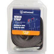 Attwood 2-Inch x 20-Foot Cut End Winch Strap