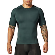 SECOND SKIN Men's QUATROFLX Short Sleeve Compression Top