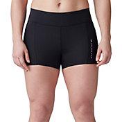 SECOND SKIN Women's QUATROFLX 3'' Compression Shorts