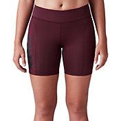 "SECOND SKIN Women's QUATROFLX 7"" Compression Shorts"
