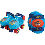 Paw Patrol Boys' Roller Skates and Knee Pads