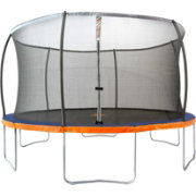 Jump Power 15' Round Trampoline with Safety Enclosure Net