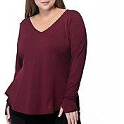 Rainbeau Curves Women's Plus Size Fiona Long Sleeve Shirt