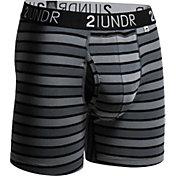 2UNDR Men's Swing Shift Printed 6'' Boxer Briefs