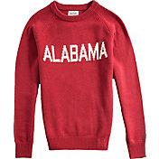 Hillflint Alabama Crimson Tide Crimson School Sweater
