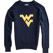 Hillflint West Virginia Mountaineers Blue Heritage Sweater