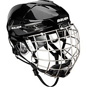 Bauer Senior IMS 7.0 Ice Hockey Helmet Combo