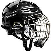 Bauer Senior RE-AKT Ice Hockey Helmet Combo