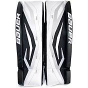 "Bauer Junior Pro Series 24"" Street Hockey Goalie Leg Pads"