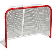 Black Ice 72'' Curved Metal Ice Hockey Goal