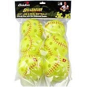 """Baden 12"""" Big-Leaguer Practice Softballs - 6 Pack"""