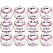 Baden Official Level-5 Safety Baseballs – 12 Pack