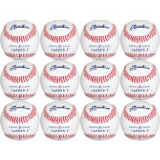 Baden Official Level-5 Safety Baseballs – 12 Pack