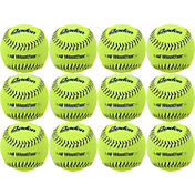 Baden 12'' All-Weather Practice Softball – 12-Pack