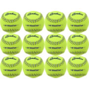 Baden 11'' All-Weather Practice Softballs – 12-Pack