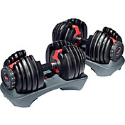 $249.98 Selecttech 52.5lb Adjustable Dumbbells