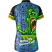 Brainstorm Gear Women's Ghostbusters Slimer Cycling Jersey