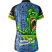 Brainstorm Gear Women's Ghostbusters Slimer Cycling Jersey