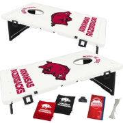 BAGGO Arkansas Razorbacks Bean Bag Toss Game