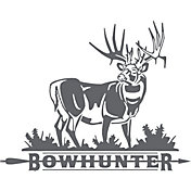 Big Rack Bowhunter Decal
