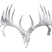 Big Rack Whitetail Skull Emblem Decal