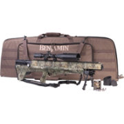 Benjamin Bulldog .357 PCP Air Rifle Package – Realtree Xtra