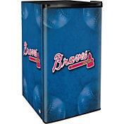 Boelter Atlanta Braves Counter Top Height Refrigerator